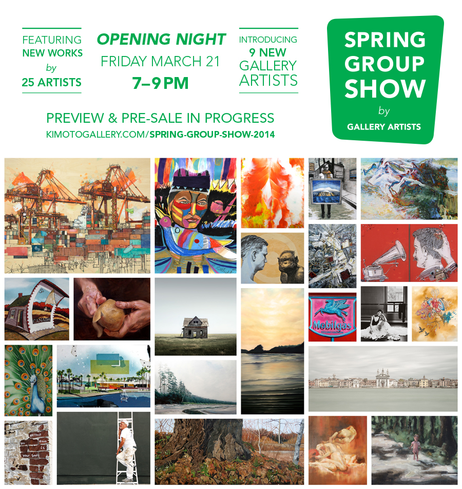 Spring Group Show at Kimoto Gallery